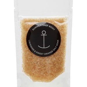 Mini salt soak - Lavender & Sweet orange 70g