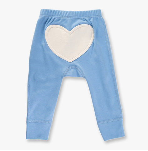 Little boy blue heart pants