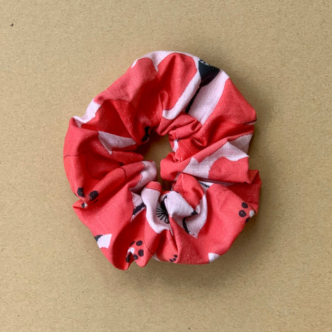 The Deadly Poppy Scrunchie