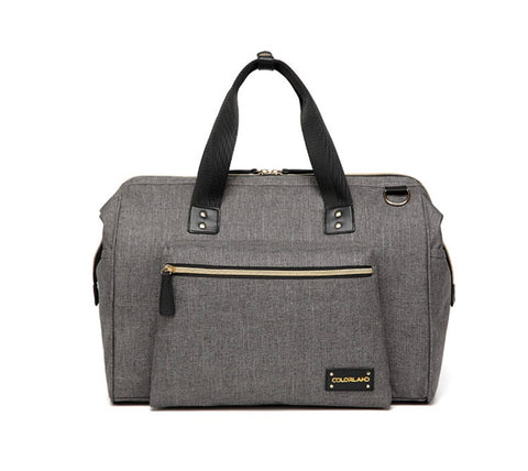 Zara Tote Nappy bag in grey