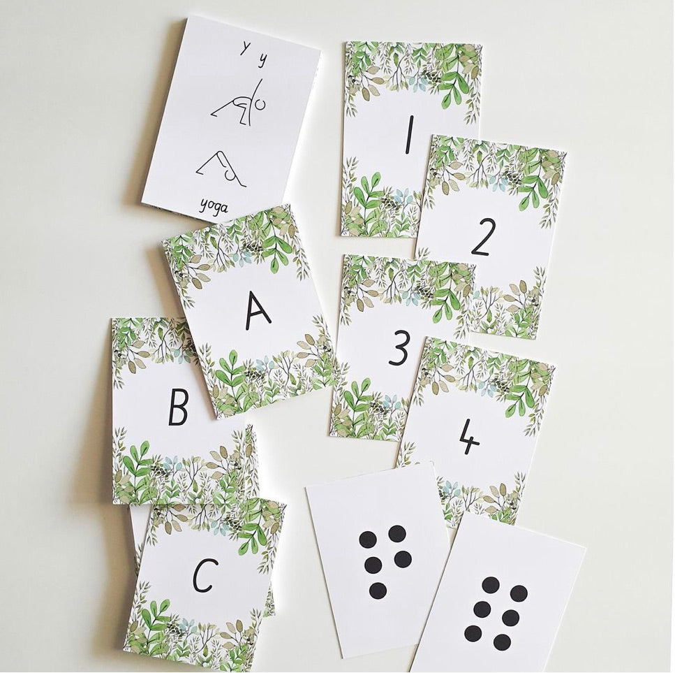 Flash Cards - Nature