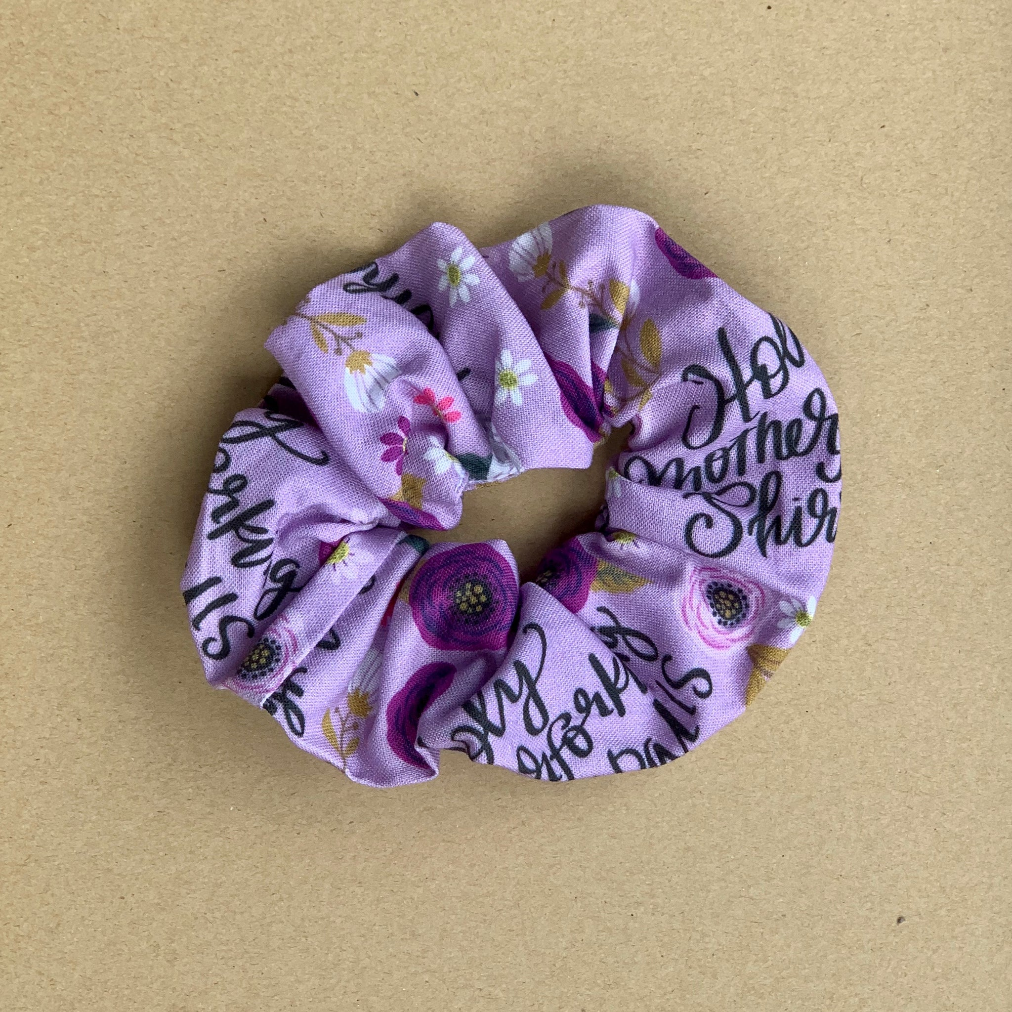 Not so sweary Scrunchie