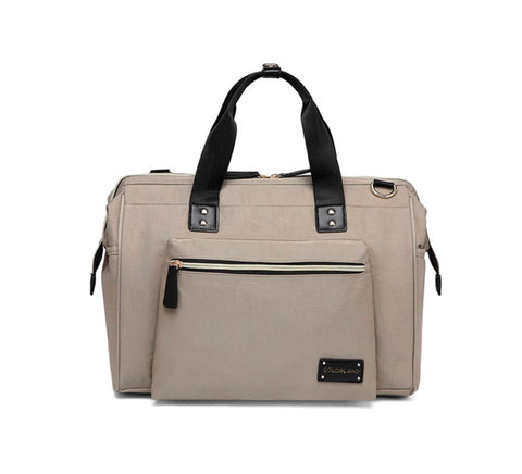 Zara Tote Nappy bag in khaki