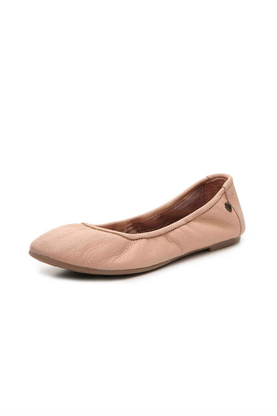 Anna Leather Ballet Flat