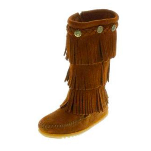 Kids' 3-Layer Fringe Boot