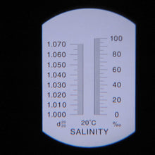Load image into Gallery viewer, Salinity Refractometer (ATC)