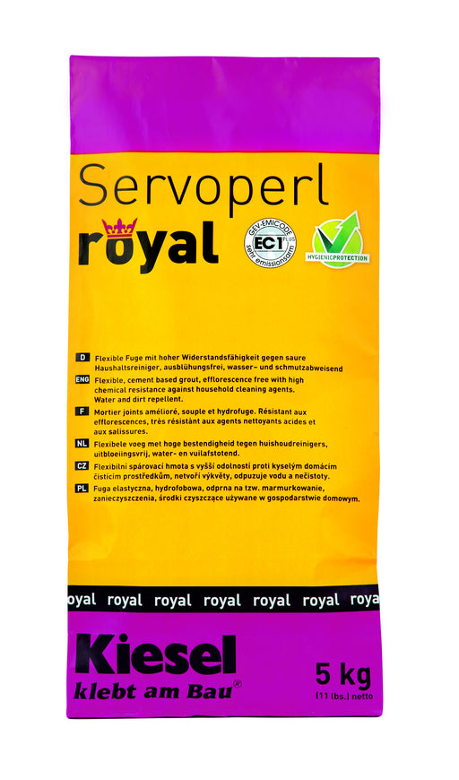Servoperl Royal anthrazit 5kg