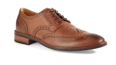 brown wing tips