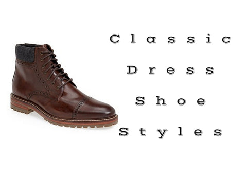Classic Dress Shoe Styles Boots