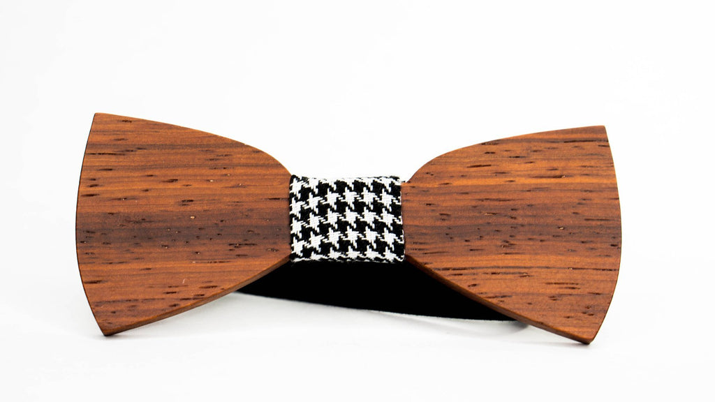 Wood Bow Tie | Redwood | Laser Cut
