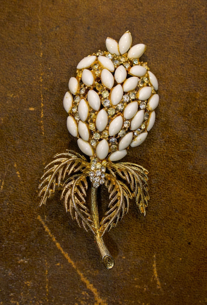 Vintage Pineapple Brooch