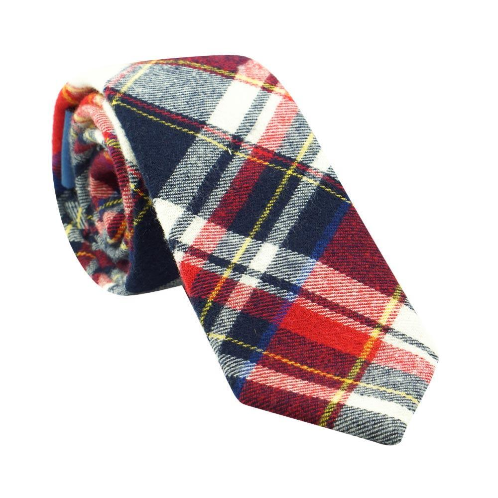 Plaid Necktie No. 327