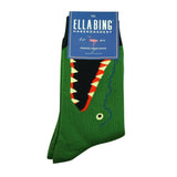 Gator Chomp- Graphic Crew Dress Socks