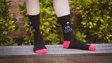 Mr. Cool Socks - Graphic Crew Dress Socks