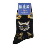 Mr. Mistoffelees Socks - Graphic Crew Dress Socks