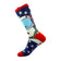 Space Man Socks - Graphic Crew Dress Socks