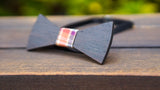Flat Wooden Bow Tie No. 116