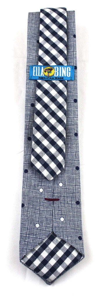 The David James Dotted Necktie