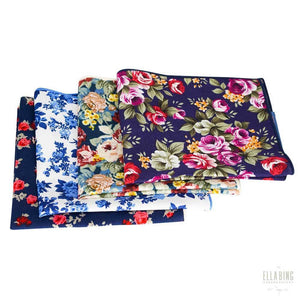 Floral Pocket Square 4-Pack