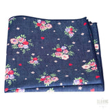 Floral Pocket Square No. 205