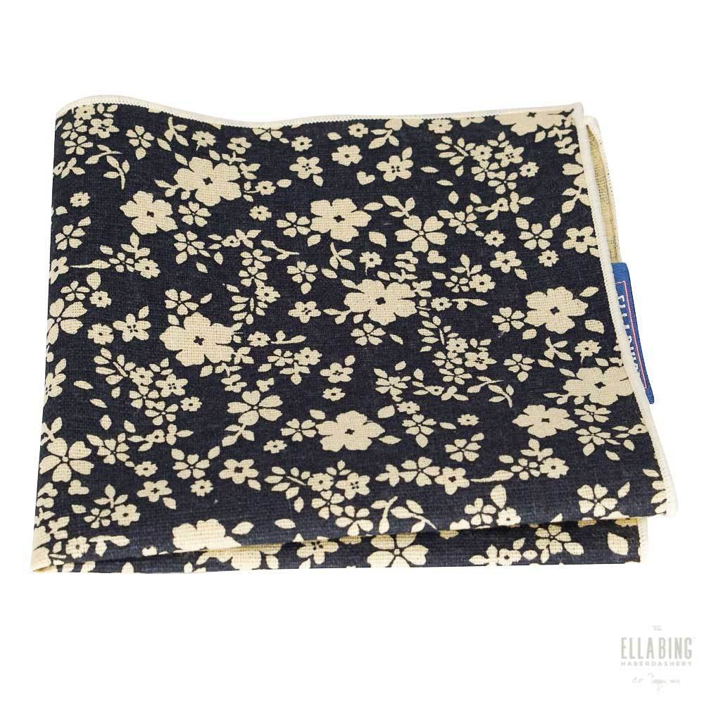 Floral Pocket Square No. 208