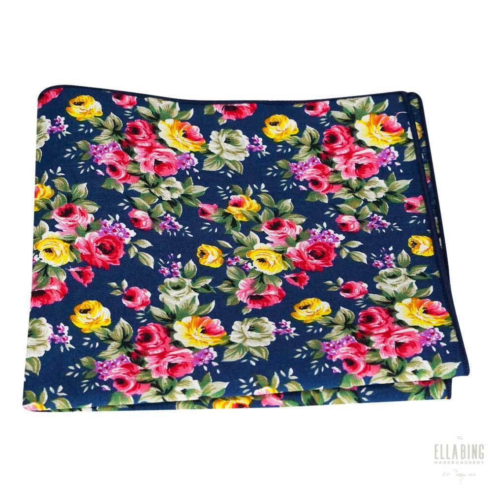 Floral Pocket Square No. 209
