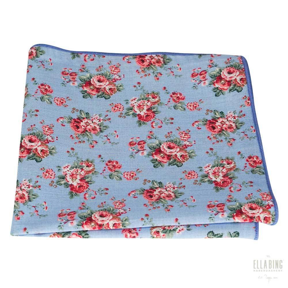 Floral Pocket Square No. 210