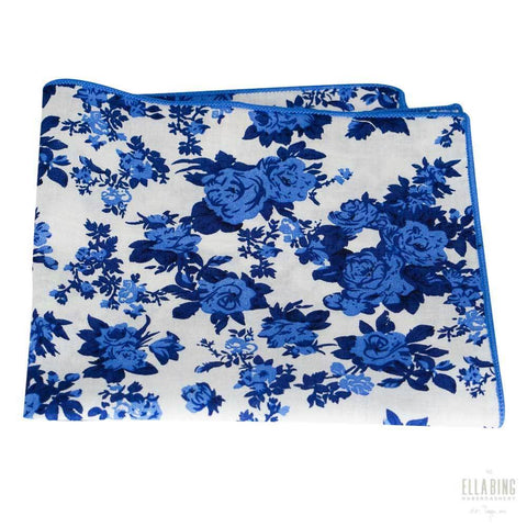 Floral Pocket Square Square No. 215