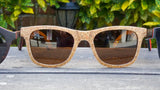 Polarized Wood Sunglasses No. 2240