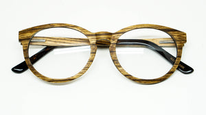 ELLA BING SERIES 6 Wooden Sunglasses Wooden Eyeglasses No. 3001