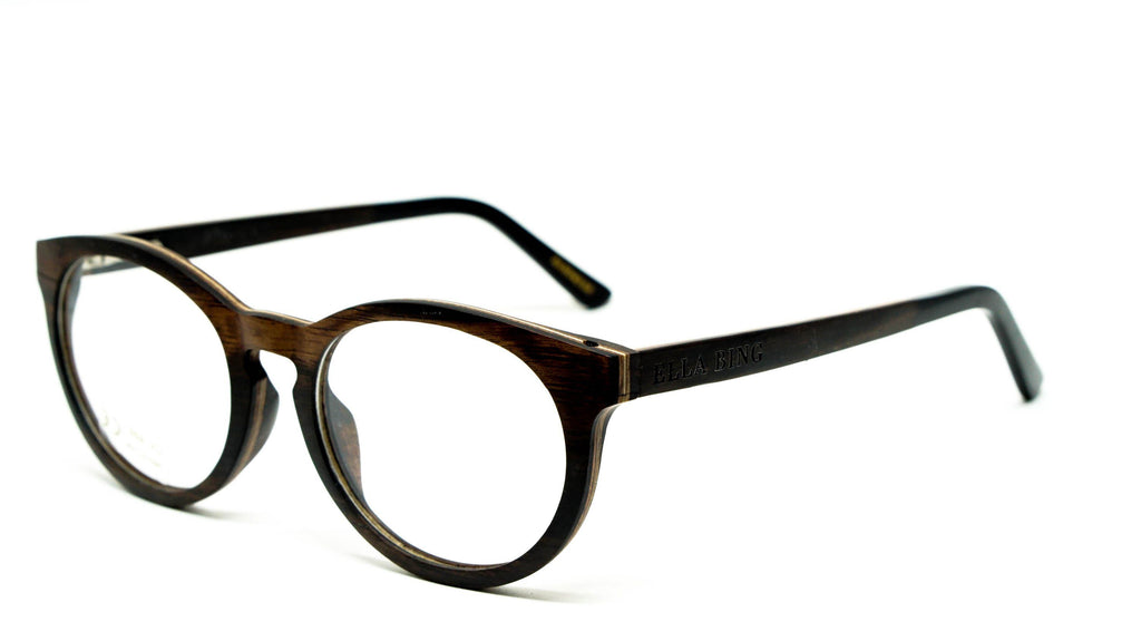 Wooden Eyeglasses No. 3003
