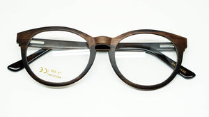 ELLA BING SERIES 6 Wooden Sunglasses Wooden Eyeglasses No. 3003