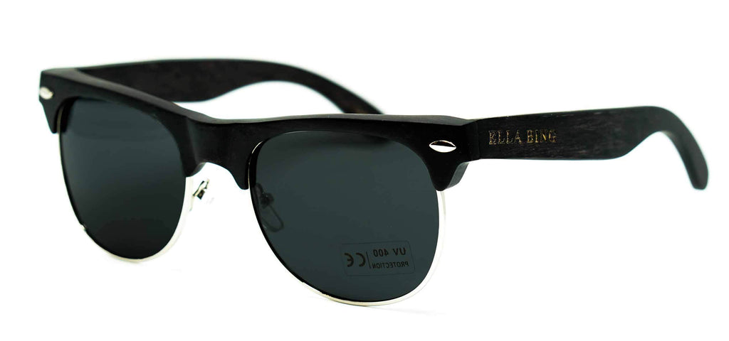Black Wood Sunglasses No. 2053