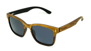 ELLA BING SERIES 8 Wooden Sunglasses Wayfarer Sunglasses No. 2057