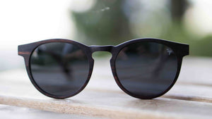 ELLA BING SERIES 9 Wooden Sunglasses Wood Sunglasses No. 2059