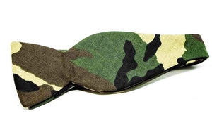 Ella Bing Signature Cloth Bow Ties Camo Bow Tie No. 853