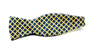 Ella Bing Signature Cloth Bow Ties Check Bow Tie No. 856