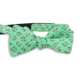 Floral Cotton Bow Tie No. 467