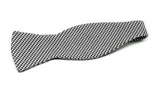Ella Bing Signature Cloth Bow Ties Houndstooth Bow Tie No. 848