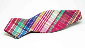 Madras Print Cloth Bow Tie No. 845