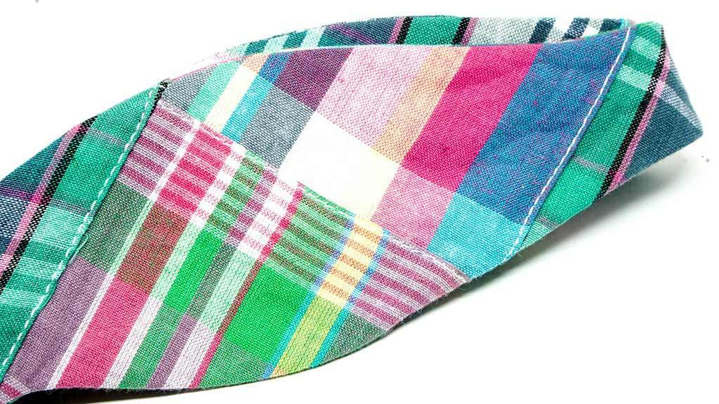 Patchwork Madras Bow Tie No. 877