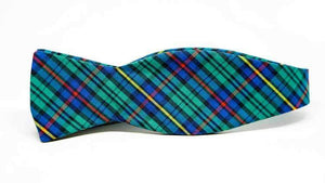 Ella Bing Signature Cloth Bow Ties Plaid Bow Tie No. 828