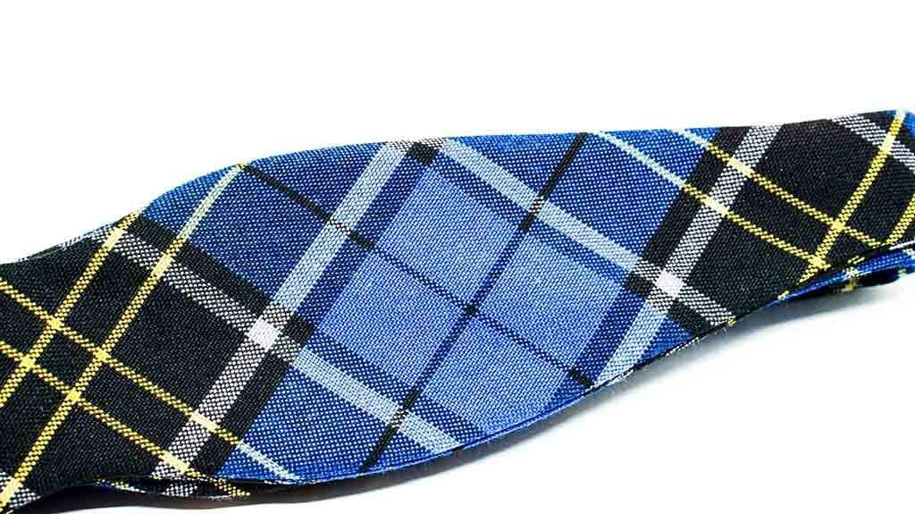 Plaid Bow Tie No. 854