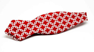 Ella Bing Signature Cloth Bow Ties Red Bow Tie No. 868