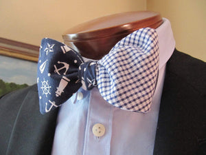 Ella Bing Signature Cloth Bow Ties The Captain Dan