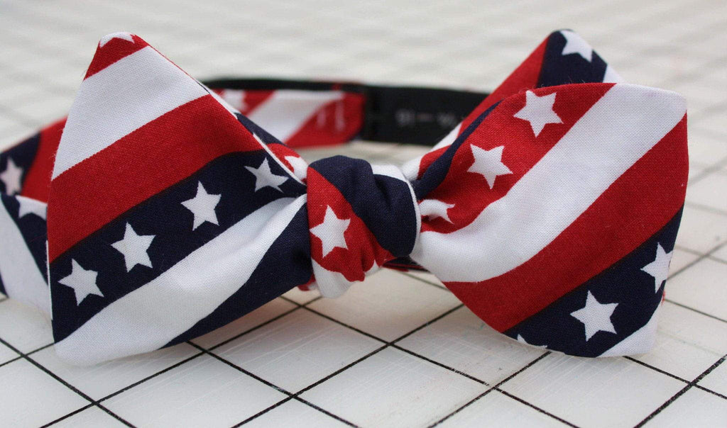 The Commander in Chief Cloth Bow Tie