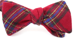 Ella Bing Signature Cloth Bow Ties The Ebenezer Fezziwig