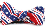 The George Washington Stars & Stripes Cloth Bow Tie