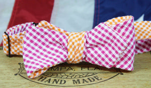 Ella Bing Signature Cloth Bow Ties The Julius Leontel - Gingham Reversible Cloth Bow Tie
