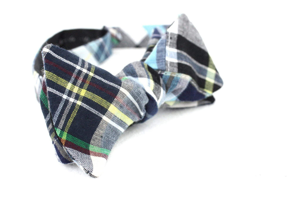 The Lex Freeman | Dark Madras Bow Tie